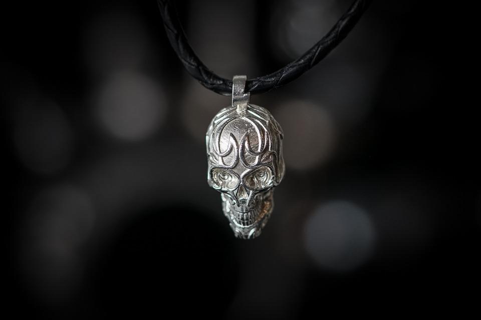 Jewelry 2018 >> Tattoo Skull - Chris Slade Spirit of the Drum Jewelry