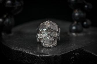Battered Skull - 9 front