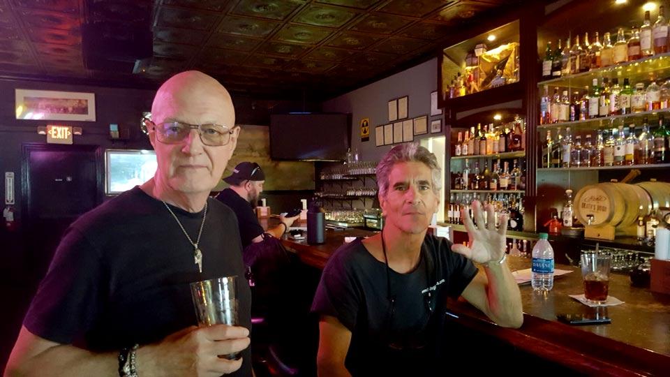 Chris Slade and Brett Miller