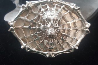 Spider Belt Buckle 3 Front View